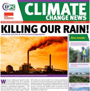 Newspaper: Climate Change News 2