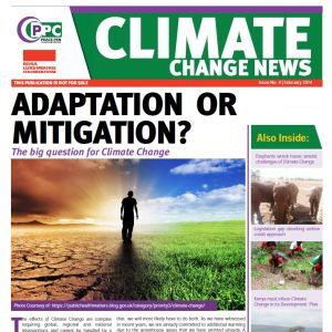 Newspaper: Climate Change News 4