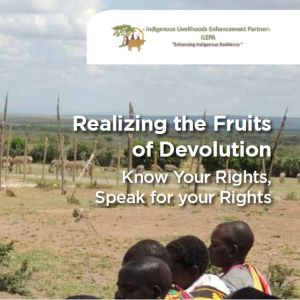 Brochure: Realizing the fruit of devolution
