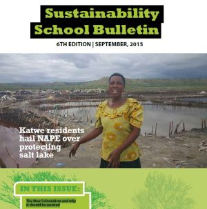 Newsletter: Sustainability School Bulletin No 6