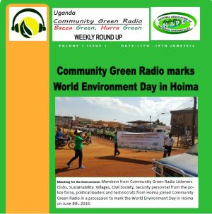 Newsletter: Community Green Radio Weekly Round Up No 1