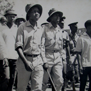 Julius Nyerere, 1967 during Arusha Declaration march